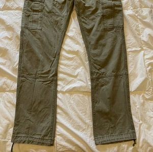 Polo by Ralph Lauren Pants - Ralph Lauren Polo Army Green Military Cargo Pants